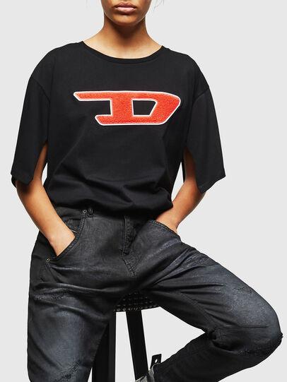 Diesel - Fayza JoggJeans 069GP, Nero/Grigio scuro - Jeans - Image 4