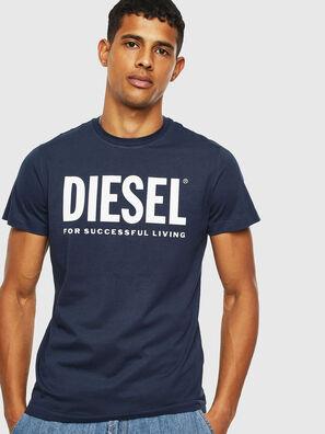 T-DIEGO-LOGO, Blu - T-Shirts