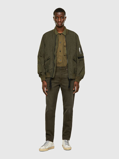 Diesel - D-Fining-Chino 0699P, Verde Militare - Jeans - Image 6