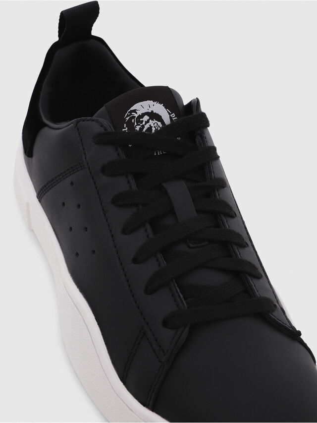 Diesel - S-CLEVER LOW W, Nero - Sneakers - Image 4