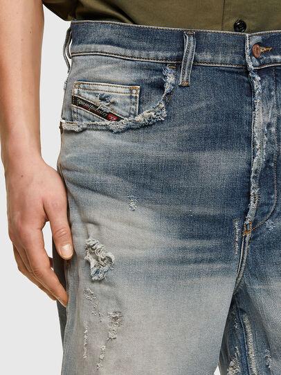 Diesel - D-MACS-SHORT, Blu Chiaro - Shorts - Image 3