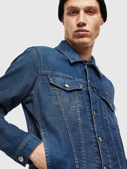 Diesel - NHILL JOGGJEANS, Blu Jeans - Giacche in denim - Image 5