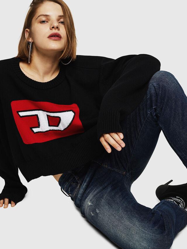 Diesel - D-Rifty 089AL, Blu Scuro - Jeans - Image 5