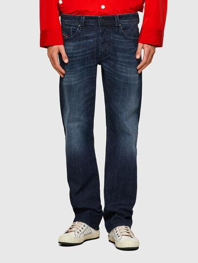 Diesel - Larkee 0095W, Blu Scuro - Jeans - Image 1