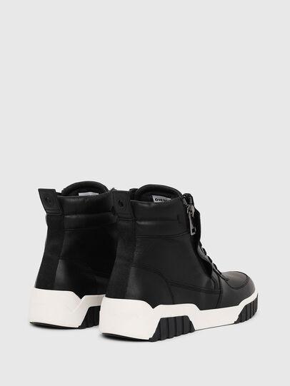 Diesel - S-RUA MID, Nero - Sneakers - Image 3