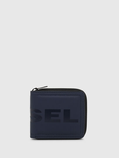 Diesel - ZIPPY HIRESH S, Blu Scuro - Portafogli Con Zip - Image 1