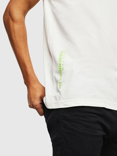 Diesel - T-DIEGO-J5, Bianco - T-Shirts - Image 7