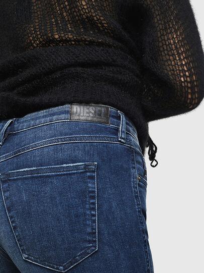 Diesel - Babhila 083AE, Blu Scuro - Jeans - Image 4