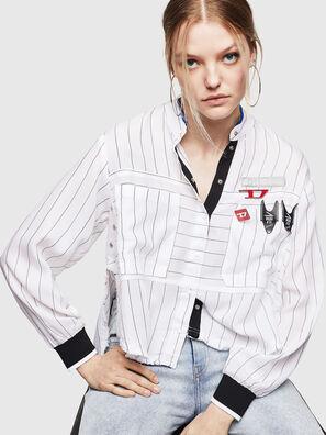 C-SUPER-D, Bianco - Camicie