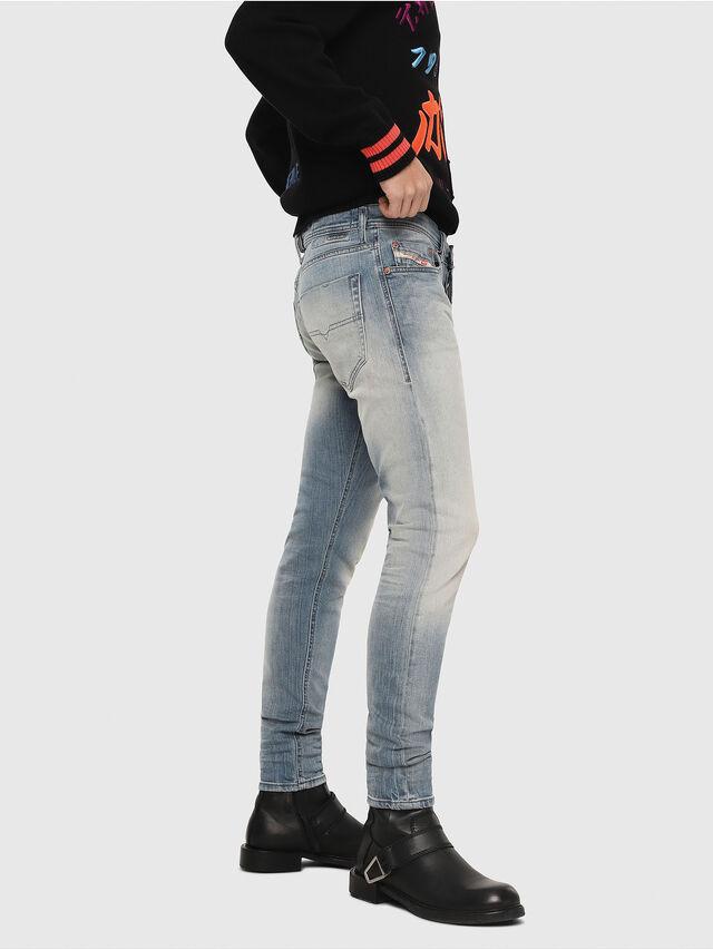 Diesel - Tepphar 081AP, Blu Chiaro - Jeans - Image 3