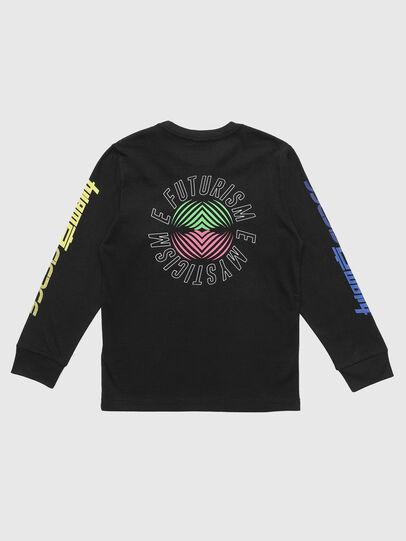 Diesel - TJUSTLSY1, Nero - T-shirts e Tops - Image 2