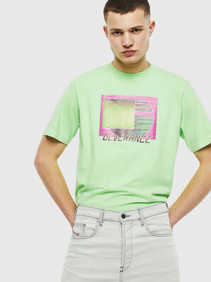T-JUST-NEON-S1, Verde Fluo - T-Shirts