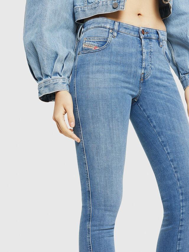 Diesel - Babhila 086AK, Blu Chiaro - Jeans - Image 3