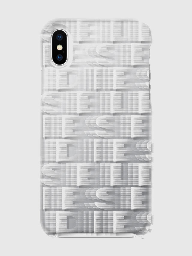 Diesel - DIESEL PRINTED CO-MOLD CASE FOR IPHONE XS & IPHONE X, Bianco - Cover - Image 2