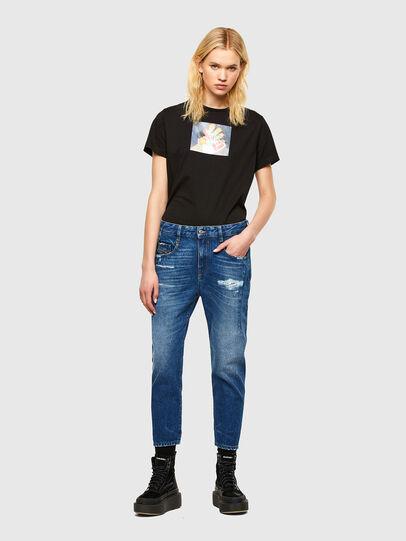 Diesel - Fayza 0079R, Blu medio - Jeans - Image 5