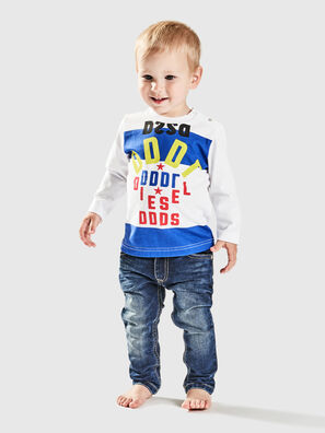 TOLIB, Bianco/Blu - T-shirts e Tops