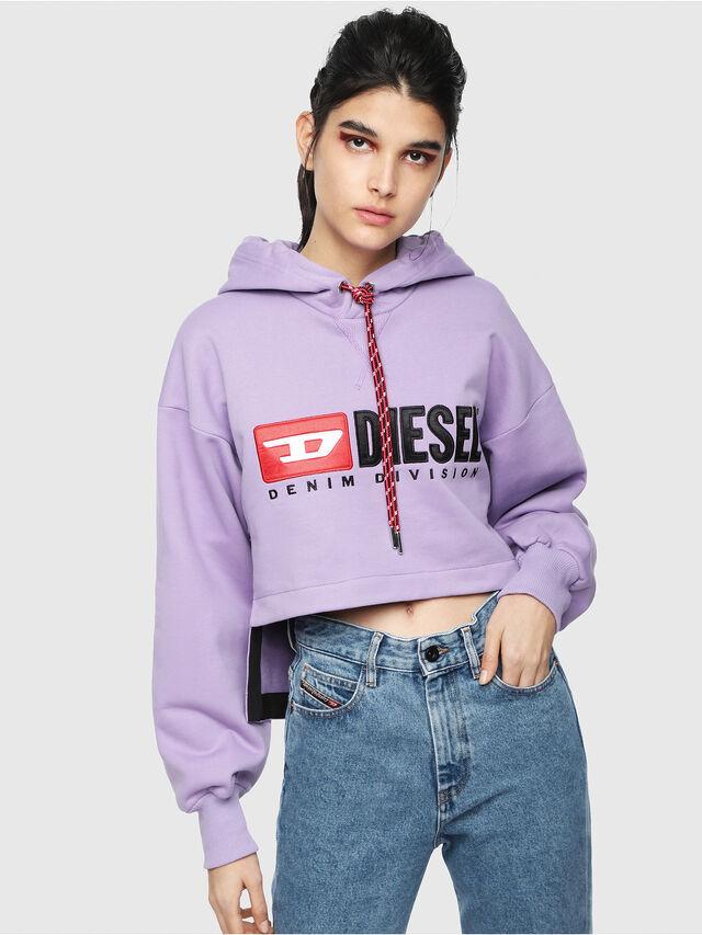 Diesel - F-DINIE-A, Lilla - Felpe - Image 1