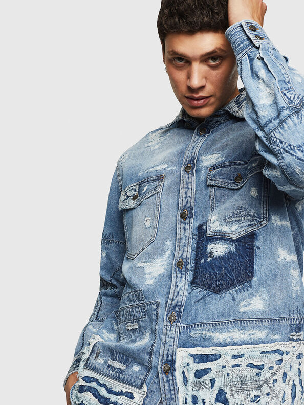 D-HISAKY-SY,  - Camicie in Denim