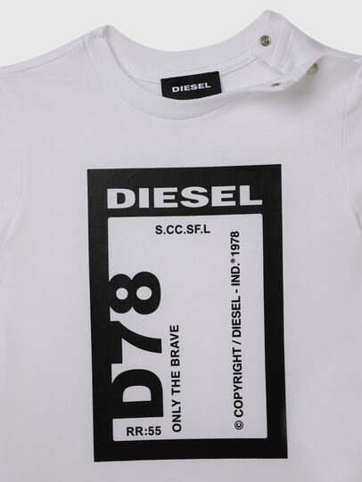 Diesel - TFULL78B, Bianco - T-shirts e Tops - Image 3