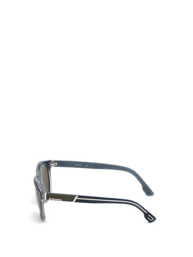 Diesel - DM0199, Verde - Occhiali da sole - Image 3