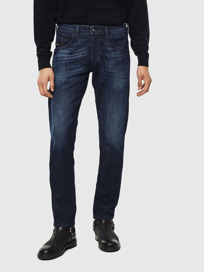 Diesel - D-Bazer 0095W, Blu Scuro - Jeans - Image 1