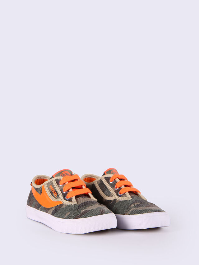 SN LOW 2 BASIC CLAW, Verde Camo