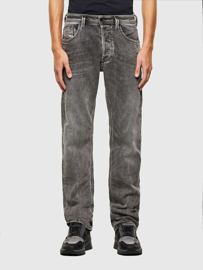 Diesel - Larkee 009KA, Grigio Chiaro - Jeans - Image 1