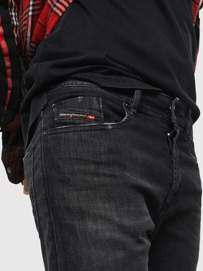 Diesel - Buster 082AS, Nero/Grigio scuro - Jeans - Image 3