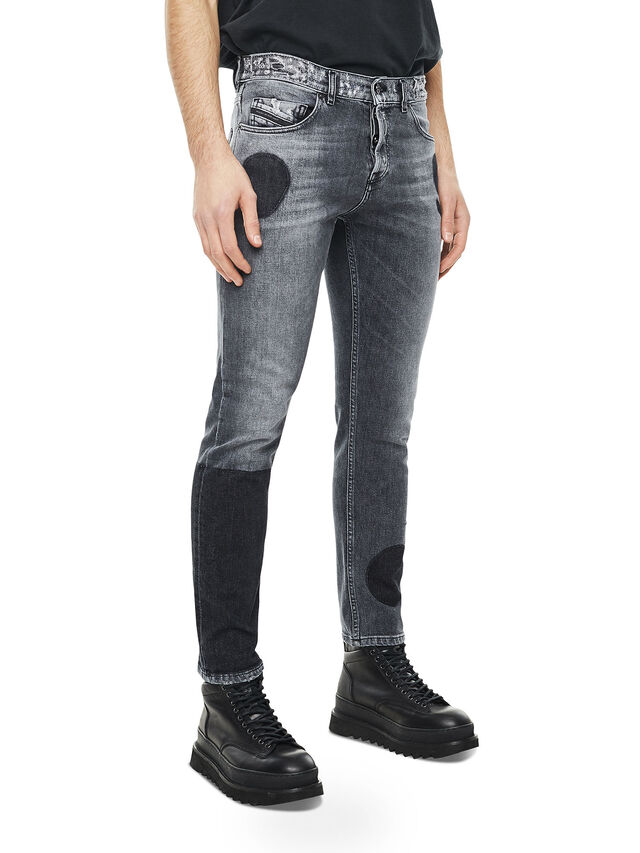 Diesel - TYPE-2813, Nero/Grigio - Jeans - Image 3