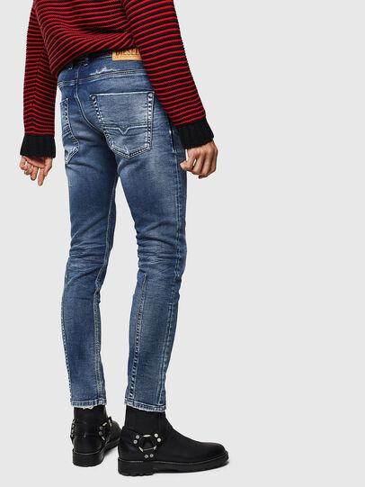 Diesel - Krooley JoggJeans 0096M, Blu Scuro - Jeans - Image 2