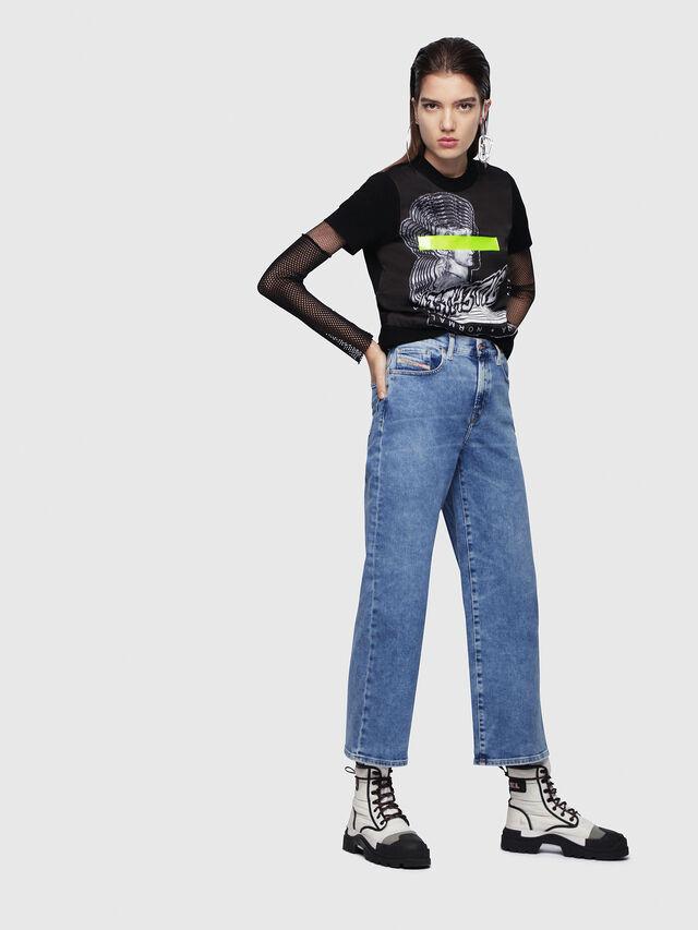 Diesel - Widee 087AR, Blu Chiaro - Jeans - Image 4
