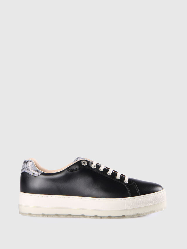 Diesel - S- ANDYES W, Nero/Argento - Sneakers - Image 1