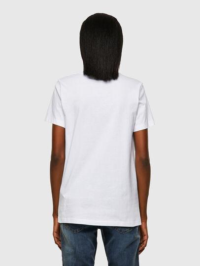 Diesel - T-SILY-ECOSMALLOGO, Bianco - T-Shirts - Image 2