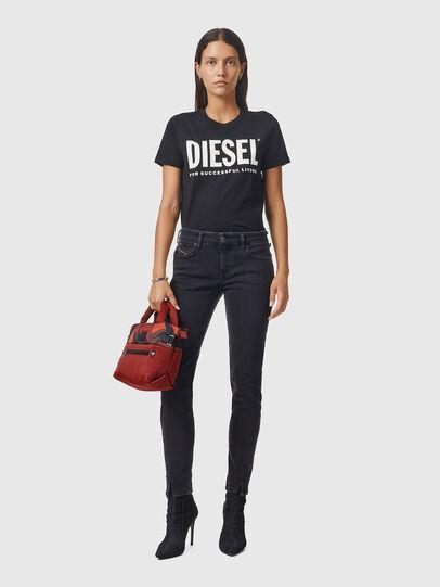 Diesel - D-Jevel 0870G, Nero/Grigio scuro - Jeans - Image 5