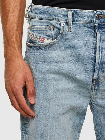 Diesel - D-Vider 009JR, Blu Chiaro - Jeans - Image 4