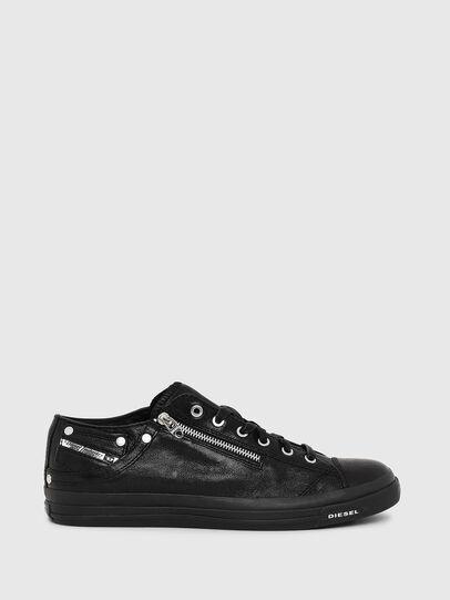 Diesel - EXPO-ZIP LOW, Nero - Sneakers - Image 1