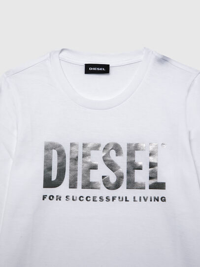 Diesel - TSILYWX ML, Bianco - T-shirts e Tops - Image 3