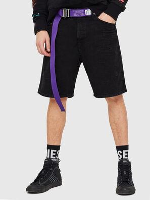 D-WILLOH, Nero/Grigio scuro - Shorts