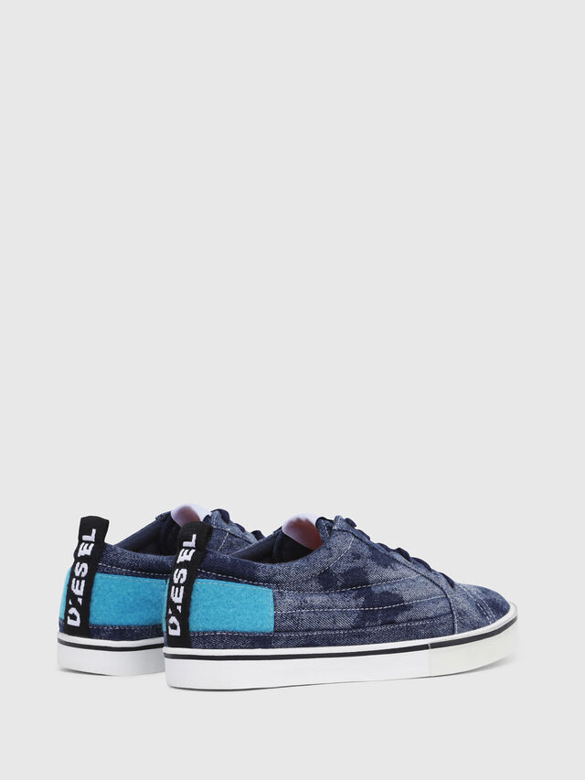 Diesel - D-VELOWS LOW PATCH, Blu Jeans - Sneakers - Image 3
