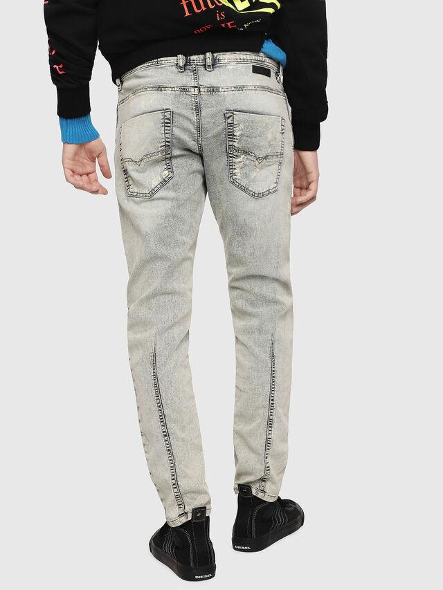Diesel - Krooley JoggJeans 069FD, Blu Chiaro - Jeans - Image 2