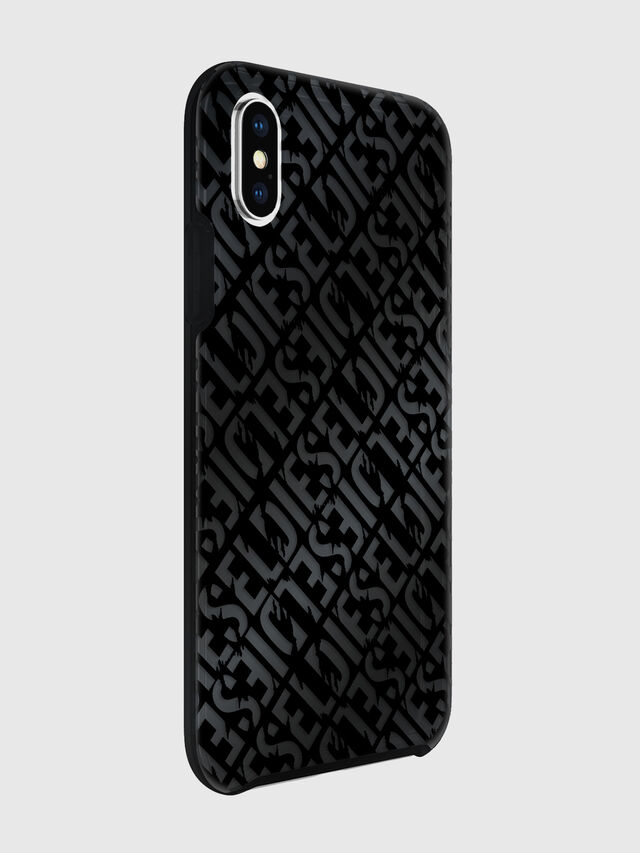 Diesel - DIESEL PRINTED CO-MOLD CASE FOR IPHONE XS & IPHONE X, Nero - Cover - Image 6