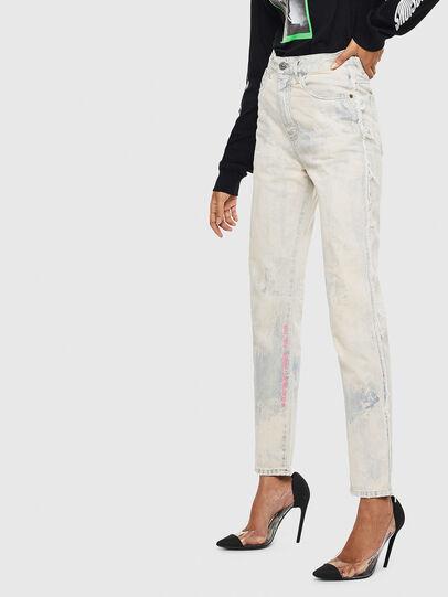 Diesel - D-Eiselle 0099P, Bianco - Jeans - Image 7