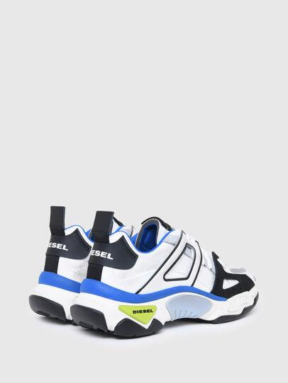 Diesel - S-KIPPER LOW TREK II, Bianco/Nero - Sneakers - Image 3