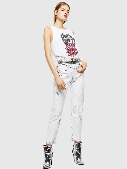 Diesel - T-TRIXY, Bianco - Tops - Image 6