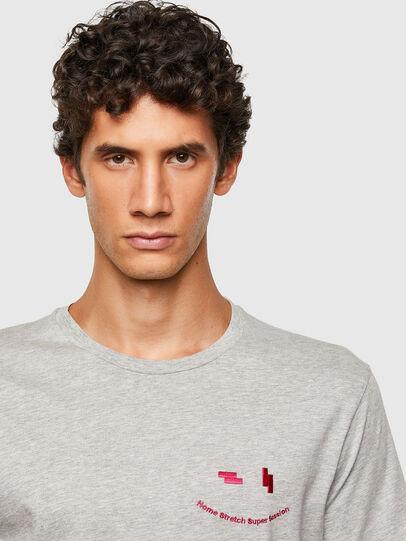 Diesel - T-DIEGOS-N28, Grigio - T-Shirts - Image 3
