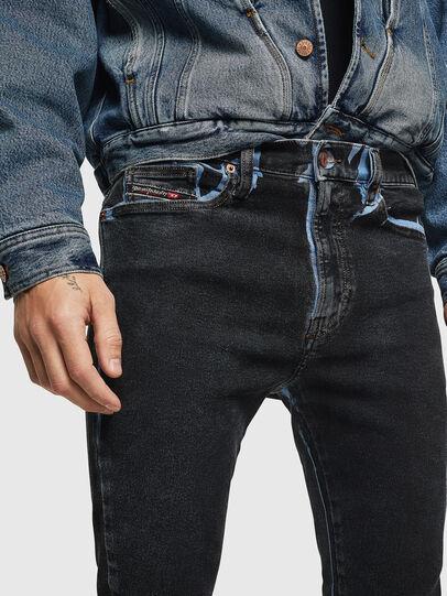 Diesel - D-Istort 0094B, Blu Scuro - Jeans - Image 3