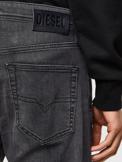 Diesel - Larkee 069SU, Nero/Grigio scuro - Jeans - Image 4