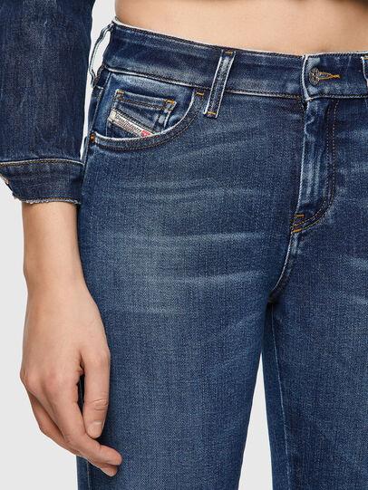 Diesel - Slandy 009ZX, Blu Scuro - Jeans - Image 3
