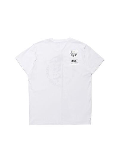 Diesel - D-MESO&MESO, Bianco - T-Shirts - Image 3