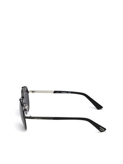 Diesel - DL0238, Nero - Occhiali da sole - Image 3